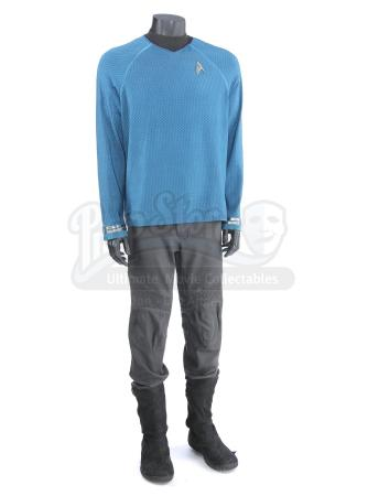 STAR TREK (2009) and STAR TREK INTO DARKNESS (2013) - Mr. Spock's Stunt Enterprise Sciences Uniform