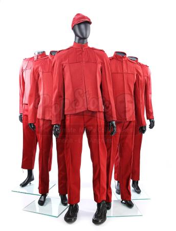 STAR TREK (2009) - Set of Five Men's Starfleet Cadet Uniforms