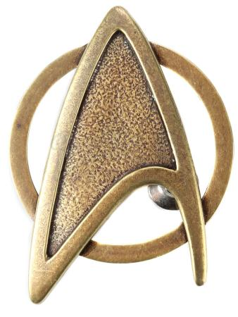 STAR TREK INTO DARKNESS (2013) - Admiral Pike's Starfleet Command Division Dress Uniform Insignia