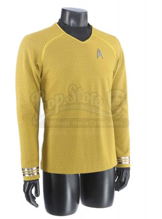 STAR TREK INTO DARKNESS (2013) - Captain Kirk's Enterprise Captain's Command Tunic and Starfleet Undershirt