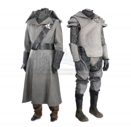 STAR TREK INTO DARKNESS (2013) - Pair of Klingon Guard Uniforms