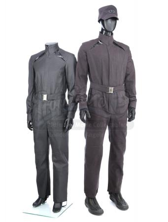 STAR TREK INTO DARKNESS (2013) - Pair of Starfleet Loader Uniforms