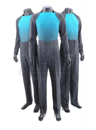 STAR TREK INTO DARKNESS (2013) - Set of Three Vengeance Crew Member Uniforms