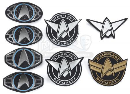 STAR TREK (2009) and STAR TREK INTO DARKNESS (2013) - Starfleet Patch Set