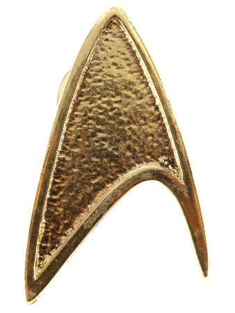 STAR TREK (2009) - Starfleet Cadet Uniform Collar Insignia