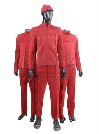 STAR TREK (2009) - Set of Three Men's Starfleet Cadet Uniforms