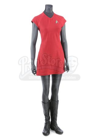 STAR TREK INTO DARKNESS (2013) - Lieutenant Uhura's Enterprise Operations Uniform