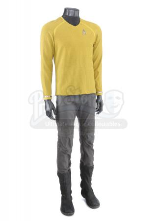 STAR TREK INTO DARKNESS (2013) - Lieutenant Sulu's Enterprise Command Uniform