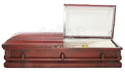 TWIN PEAKS (1990 - 1991) - Laura Palmer's (Sheryl Lee) Red Aluminum Casket