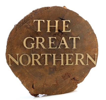 TWIN PEAKS (1990 - 1991) - 'The Great Northern' Hotel Lobby Sign