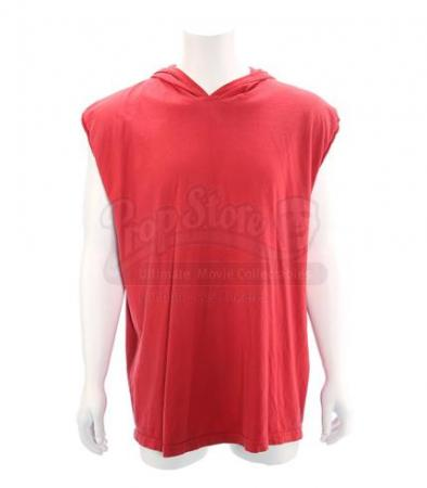 MIGHTY MORPHIN POWER RANGERS (1993 - 1996) - Jason Lee Scott's (Austin St. John) Red Power Ranger Sleeveless Hoodie