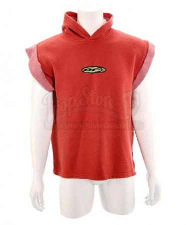 MIGHTY MORPHIN POWER RANGERS (1993 - 1996) - Jason Lee Scott's (Austin St. John) Red Power Ranger Sleeveless Sweater