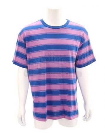 MIGHTY MORPHIN POWER RANGERS (1993 - 1996) - Billy Cranston's (David Yost) Blue Power Ranger Striped Shirt