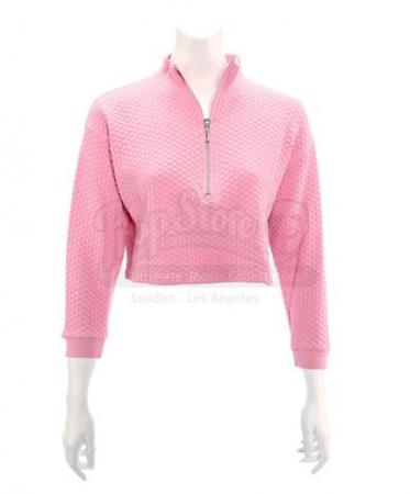 MIGHTY MORPHIN POWER RANGERS (1993 - 1996) - Kimberly Hart's (Amy Jo Johnson) Pink Power Ranger Pink Crop Top