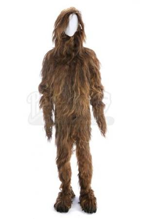 THE KROFFT SUPERSHOW (1976 - 1978) - Bigfoot's (Ray Young) Hair Costume