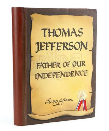 GUMBY ADVENTURES (1988 - 2002) - Thomas Jefferson - Father Of Our Independence' Storybook
