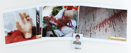 DEXTER (2006 - 2013) - Ice Truck Killer's (Christian Camargo) 'Rudy Cooper' ID and Evidence Photos