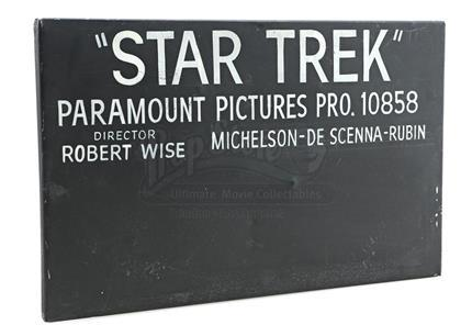"STAR TREK: THE MOTION PICTURE (1979) - ""Star Trek"" Production Slate"